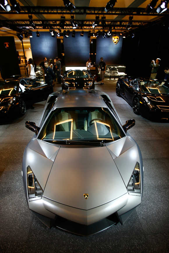 Lamborghini - the amazing supercar