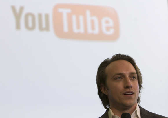 Chad Hurley, chief executive and co-founder of YouTube.