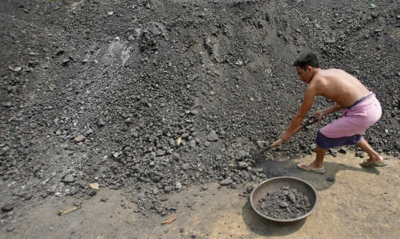 The government's coal policy was recently hit by accusations of foul play