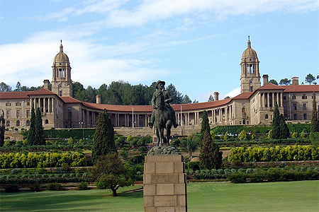 The Union Building in Pretoria, South Africa.