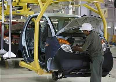 Tata Motors plant in Gujarat