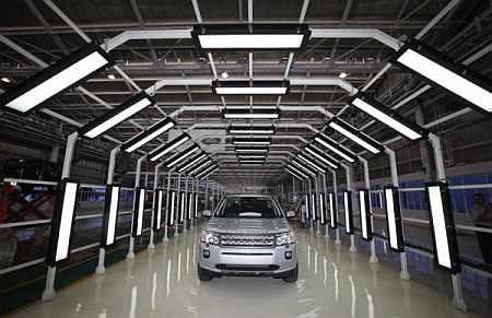 A Jaguar Land Rover Freelander 2