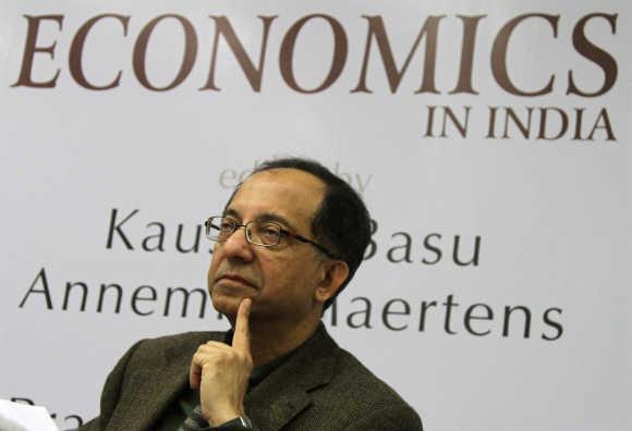 Kaushik Basu, Chief Economic Advisor of India.