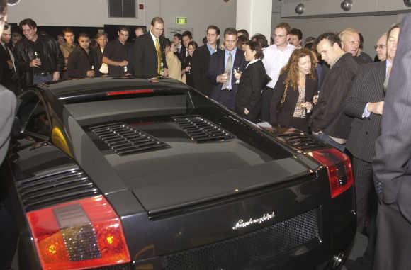 Lamborghini Ceo On A Speed Mission In India Rediff Com Business