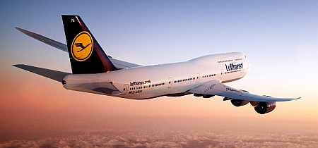 Lufthansa introduces its Boeing 747-8 in India