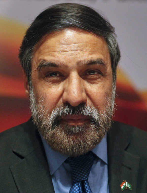 Commerce and Industry and Textiles Minister Anand Sharma.