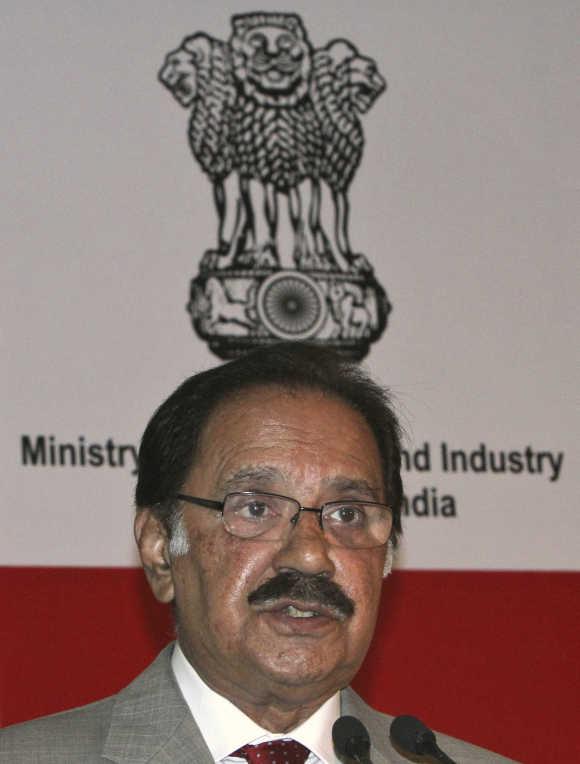 Pakistan Commerce Minister Makhdoom Amin Fahim.