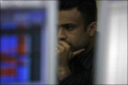 A broker at a brokerage firm in Mumbai.