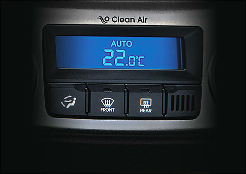 Clean air-cluster ionizer.
