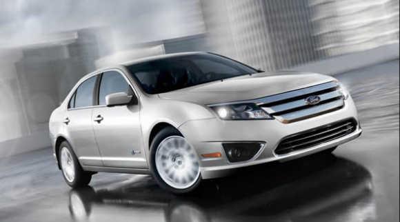 Ford Hybrid Fusion.