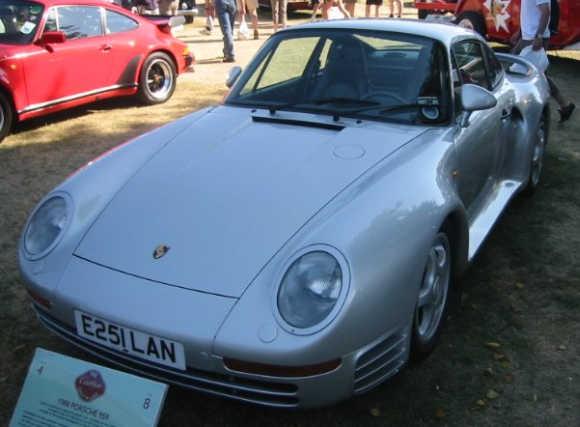 Porsche 959 Coupe.