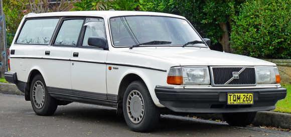A Volvo.