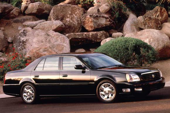 Cadillac DTS.
