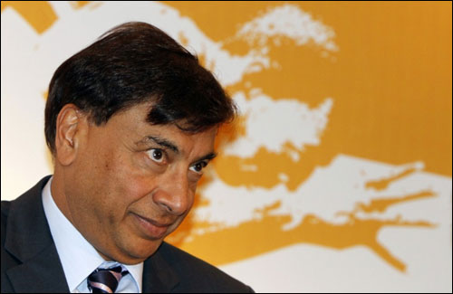 Lakshmi Mittal.