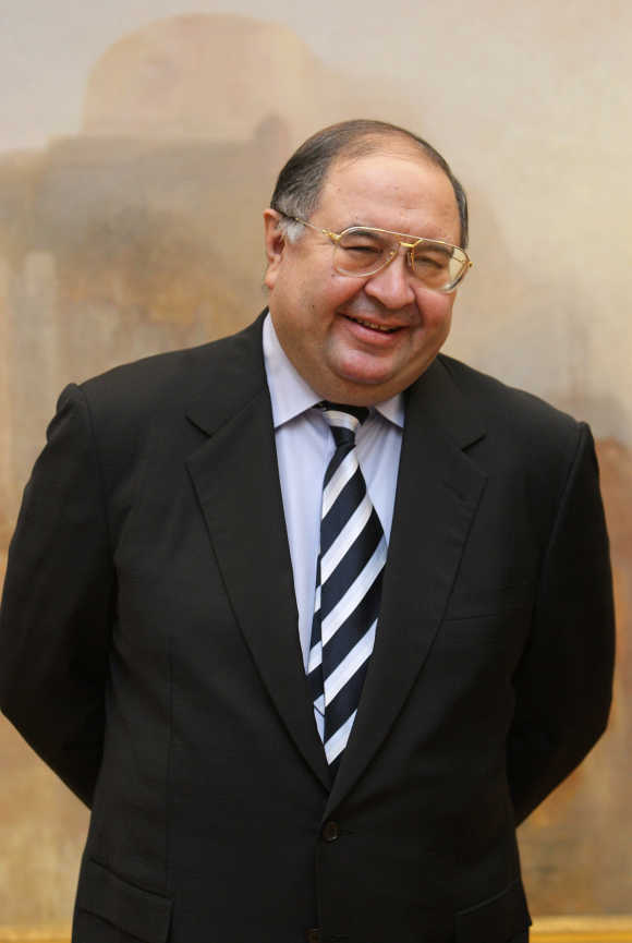 Usmanov owns the Kommersant and Sekret Firmy Publishing Houses.