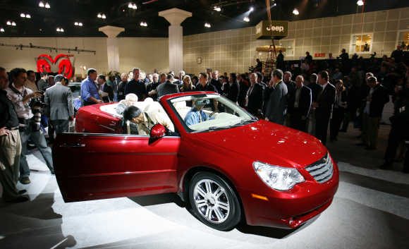 Chrysler Sebring Convertible.