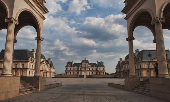Amazing photos of $50m French chateau in China