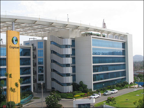 Cognizant's delivery centre in Pune.