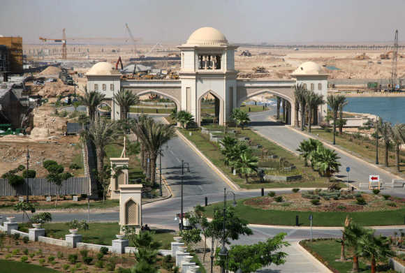 A view of King Abdullah City near Jeddah.