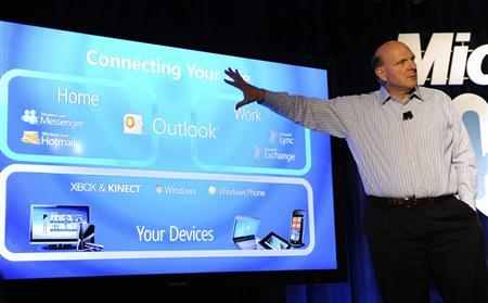 Microsoft Chief Executive Officer Steve Ballmer