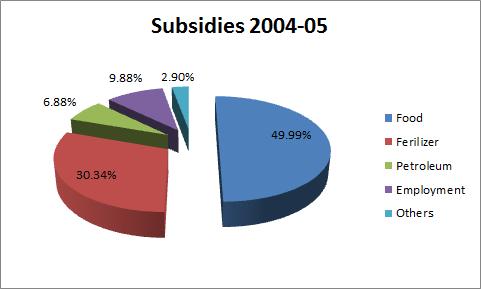 petrol subsidies 2004 2005