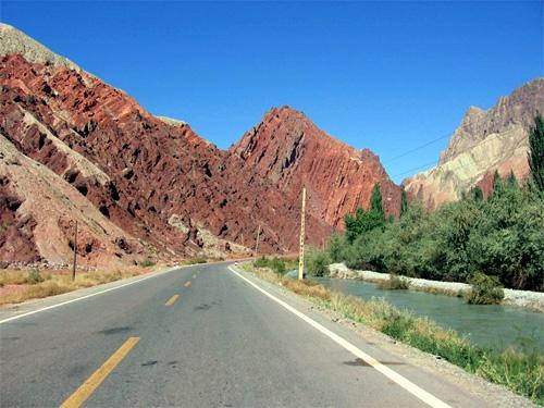 Karakoram Highway.