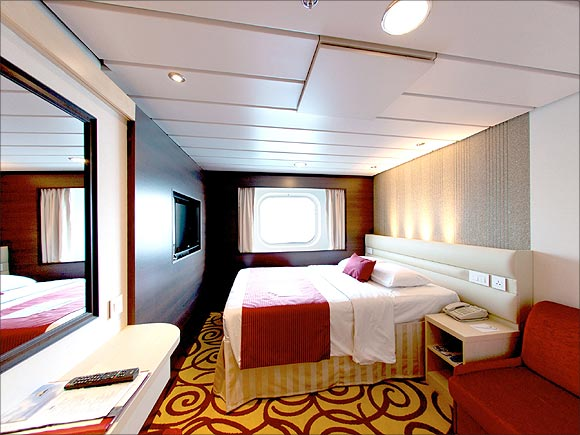 Onboard the stunning SuperStar Virgo