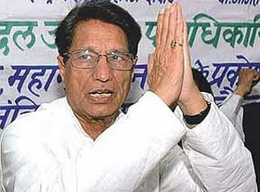 Ajit Singh, Civil Aviation Minister.