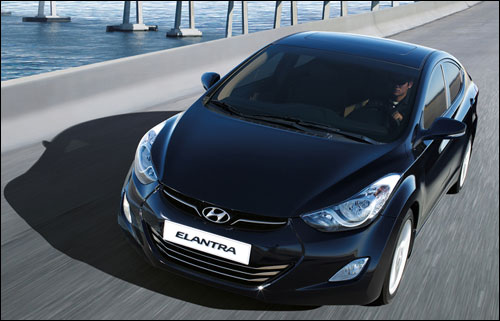 The all new Hyundai Elantra