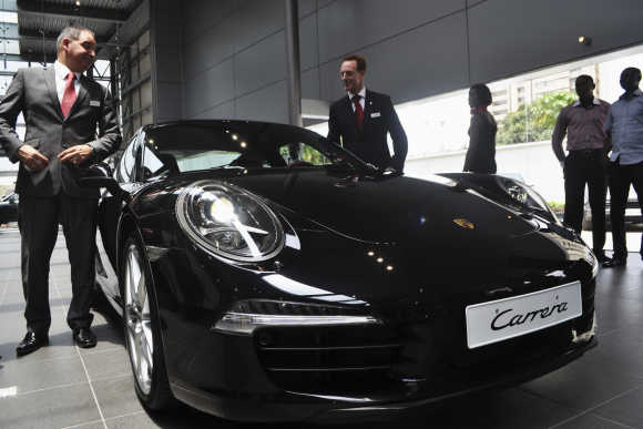 Porsche Carrera in Lagos, Nigeria.