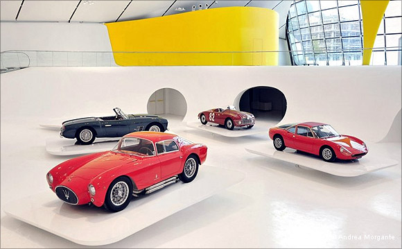 Amazing images of Ferrari's museum in Italy