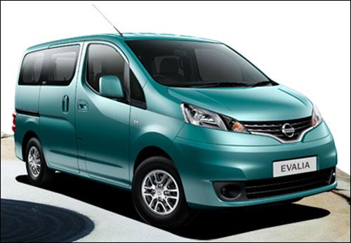 The stunning Nissan Evalia soon in India