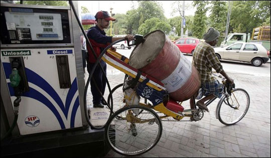 Petrol price hiked by Rs 1.50, diesel 45 paise