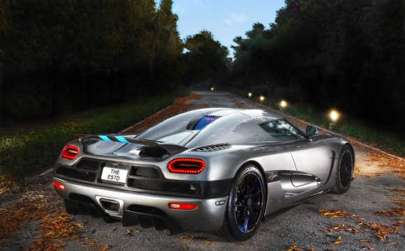 Amazing images of supercar Koenigsegg Agera R