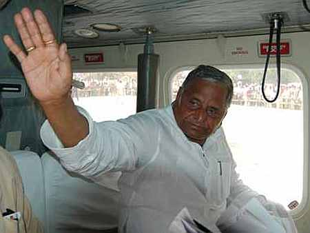 Mulayam Singh Yadav.
