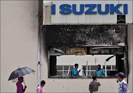 Maruti sack order illegal, say trade unions