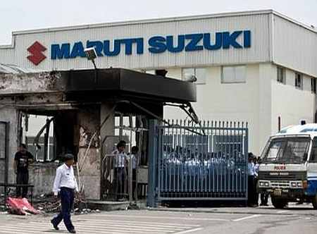 Maruti sack order illegal, say trade unions