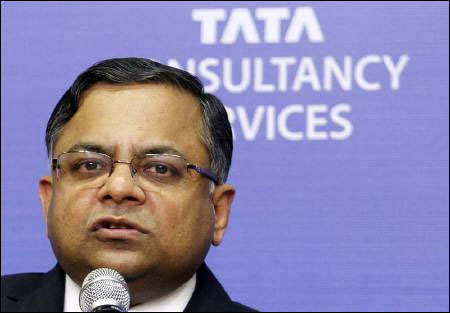 TCS overtakes RIL as India's most valued co