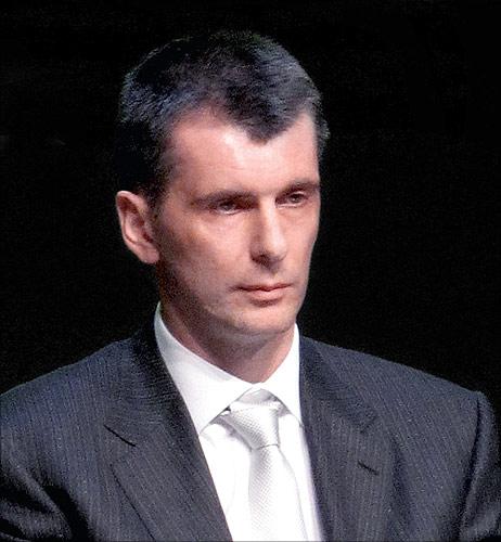 Mikhail Prokhorov.