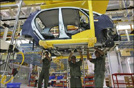 Tata Nano plant.