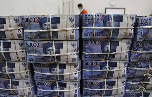 Indonesian banknotes Rupiah