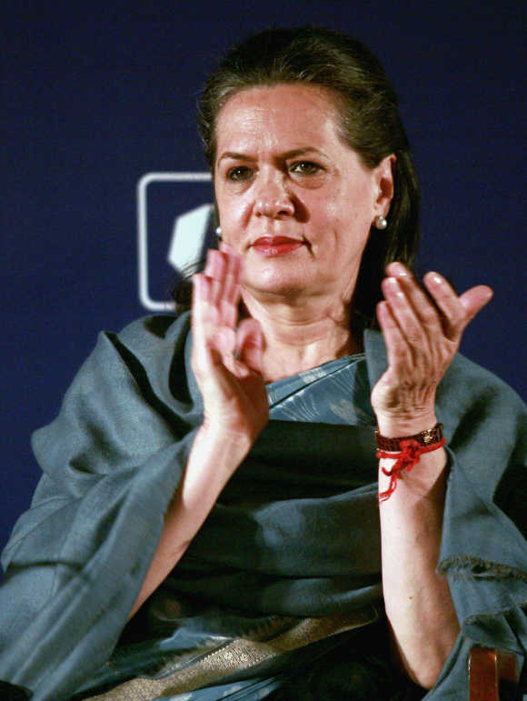 Sonia Gandhi's 'cold' strategy