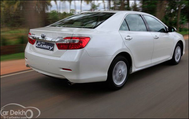 The new Toyota Camry and its 4 closest rivals