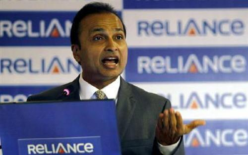 Anil Ambani, chairman of the Reliance Anil Dhirubhai Ambani Group
