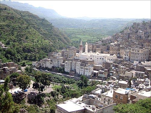 Jibla town.