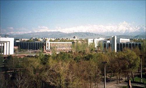 Bishkek, Kyrgyzstan.