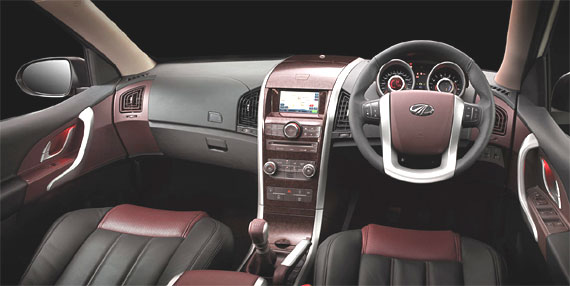 Interior of XUV.