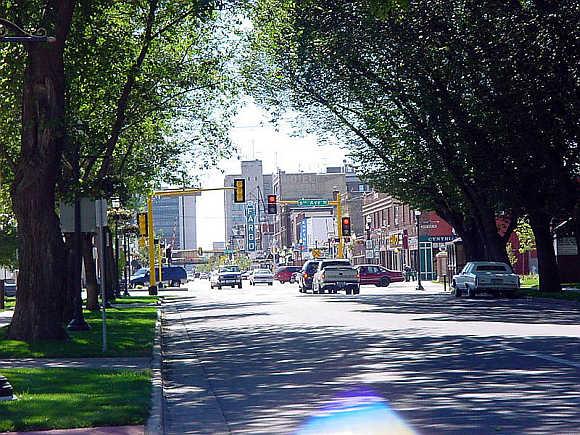 A view of Fargo, North Dakota.
