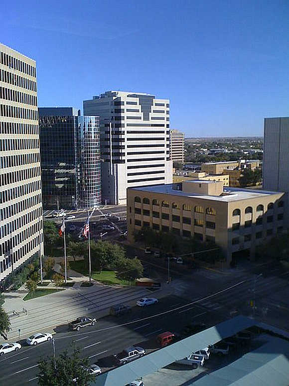 A view of Midland, Texas.