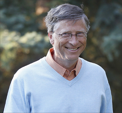 Microsoft co-founder Bill Gates attends the Allen & Co Media Conference in Sun Valley, Idaho.